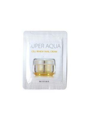 Missha Super Aqua sejtmegújító csigakrém - minta