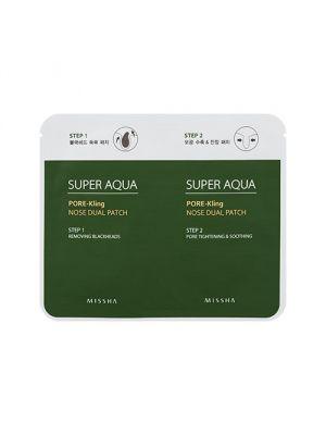 Missha Super Aqua Pore Kling kettős mitesszereltáválító tapasz