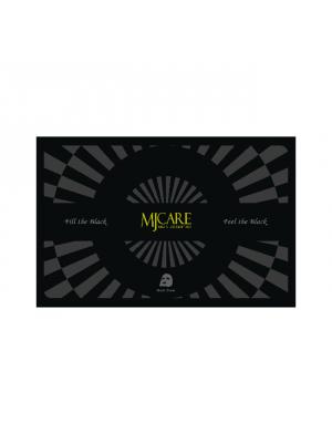 MJCare prémium faszenes fekete maszk