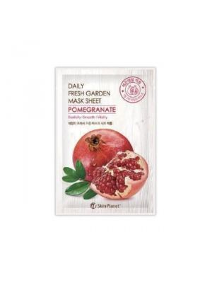 Skin Planet Daily Fresh Garden maszk - gránátalmás