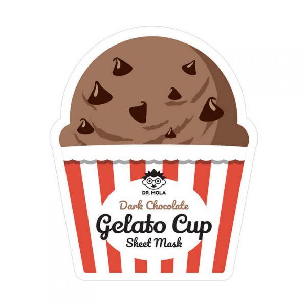 DR. MOLA Gelato Cup Étcsokis arcmaszk