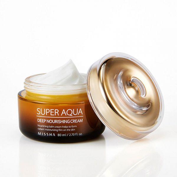 Missha Super Aqua tápláló krém