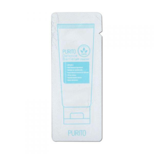 PURITO bőrvédő arclemosó minta