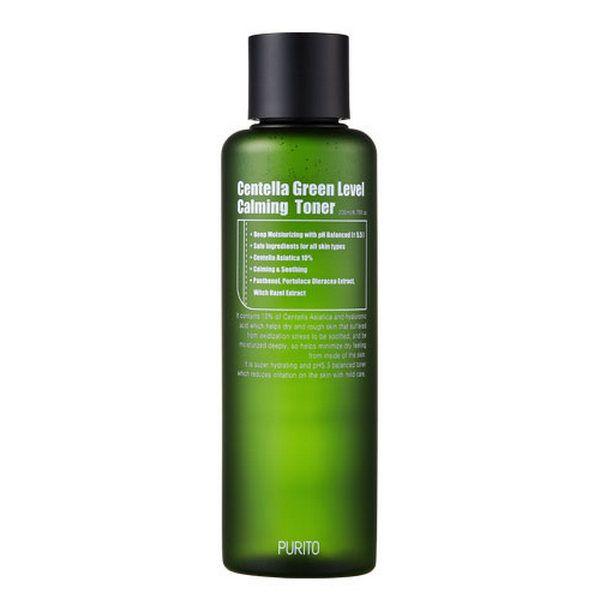 PURITO Centella Green Level bőrnyugtató toner