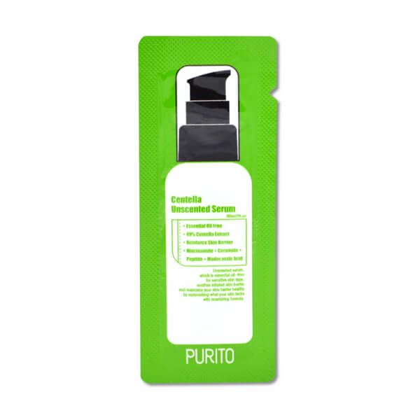 PURITO Centella illatmentes szérum minta