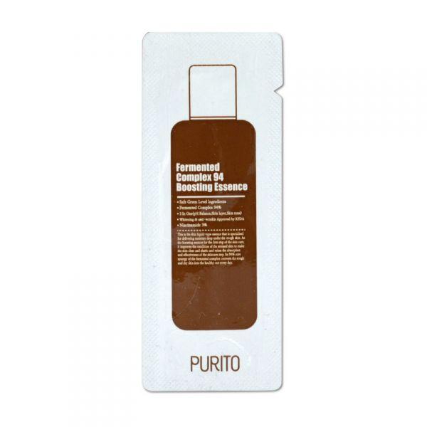 PURITO fermentált komplex 94 bőrfeltöltő eszencia minta