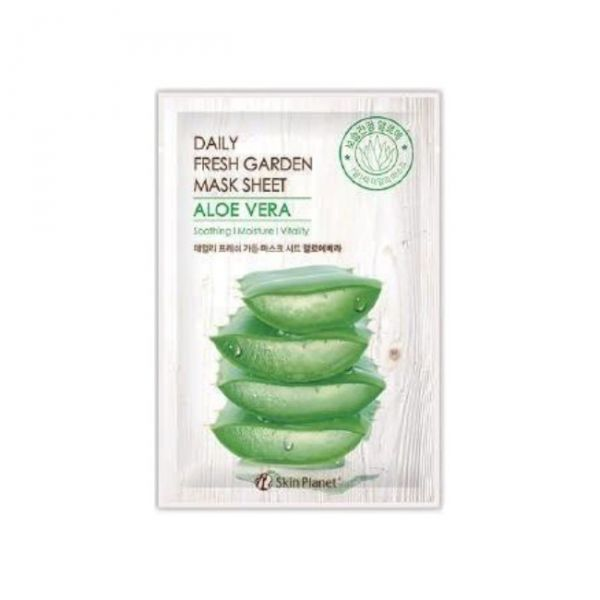 Skin Planet Daily Fresh Garden maszk - aloés