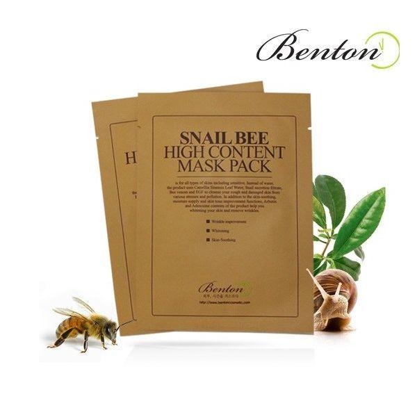 Benton csiga-méh arcmaszk