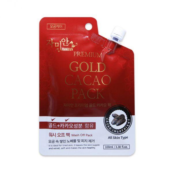 Zamian prémium arany-kakaó maszk