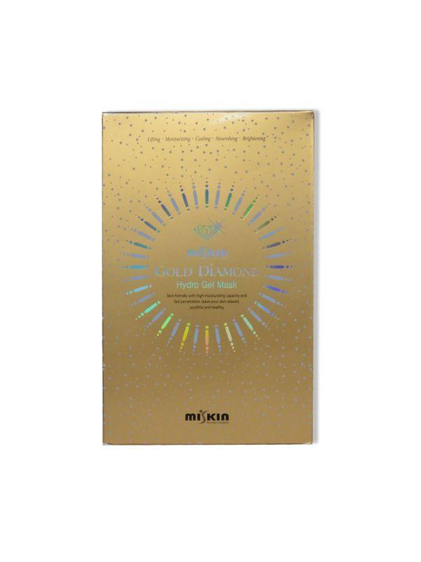 Miskin gold-diamond hidrogél arcmaszk