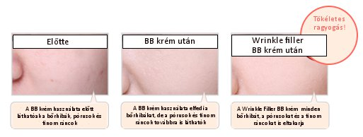 Missha wrinkle filler BB