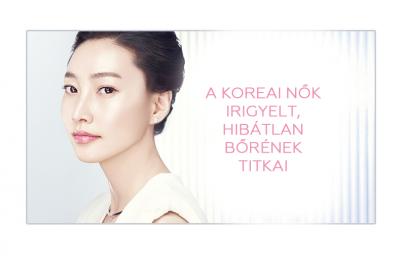 A koreai nők irigyelt, hibátlan bőrének titkai 1.