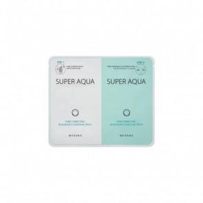 Missha Super Aqua mitesszer eltávolító kettős arcmaszk