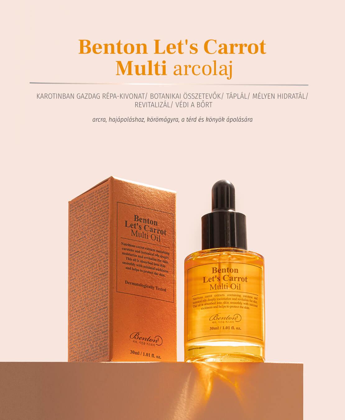 Benton-Lets-carrot-multi-arcolaj-leiras