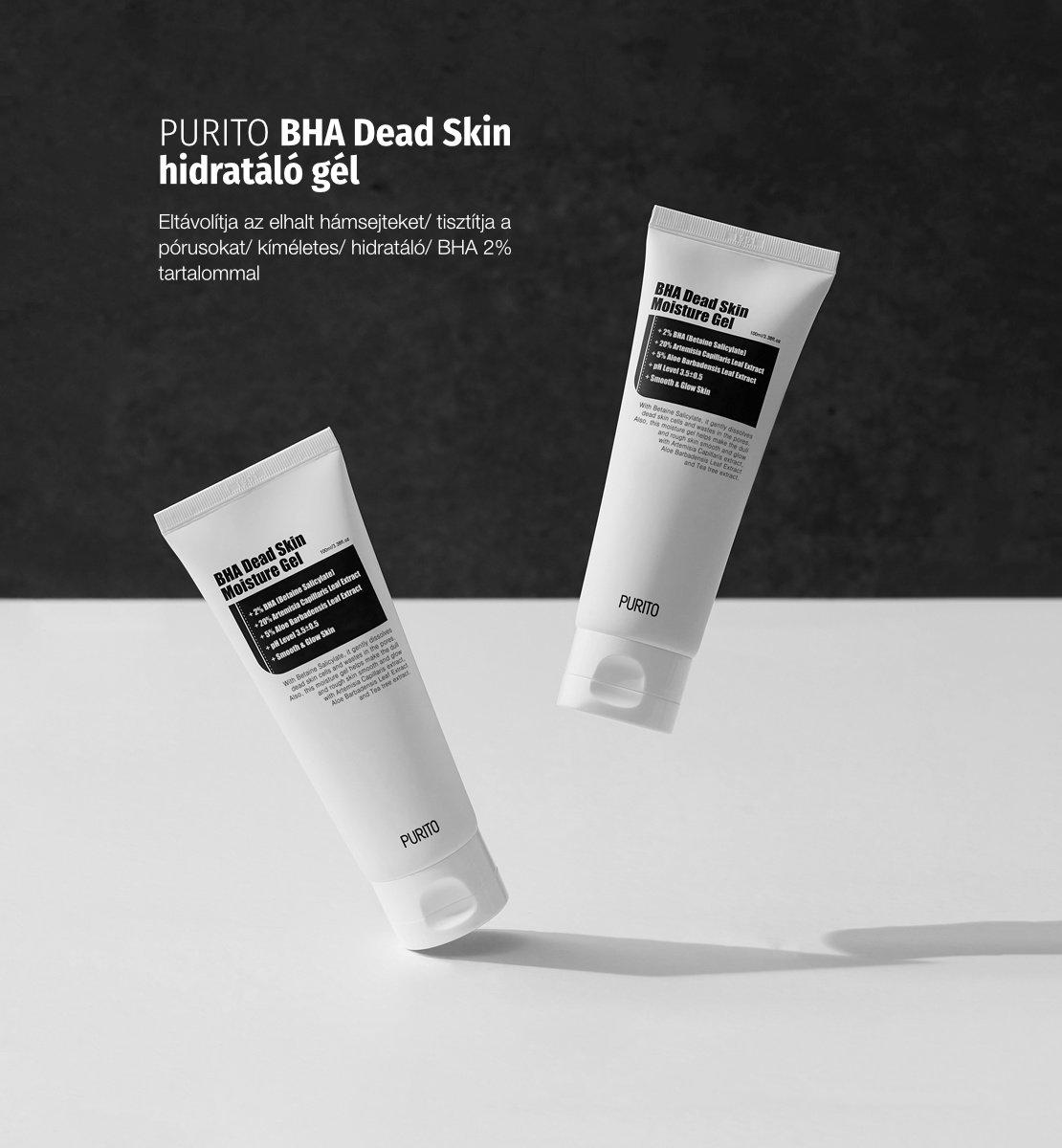 PURITO BHA Dead Skin hidratáló gél
