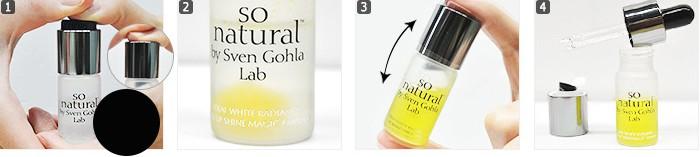 So Natural C-vitamin ampulla pigmentfoltokra és bőrmegújításra hasznalat
