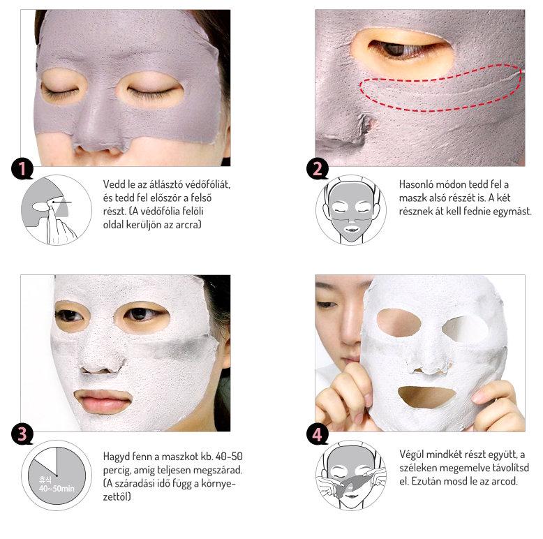 So Natural fekete maszk használat