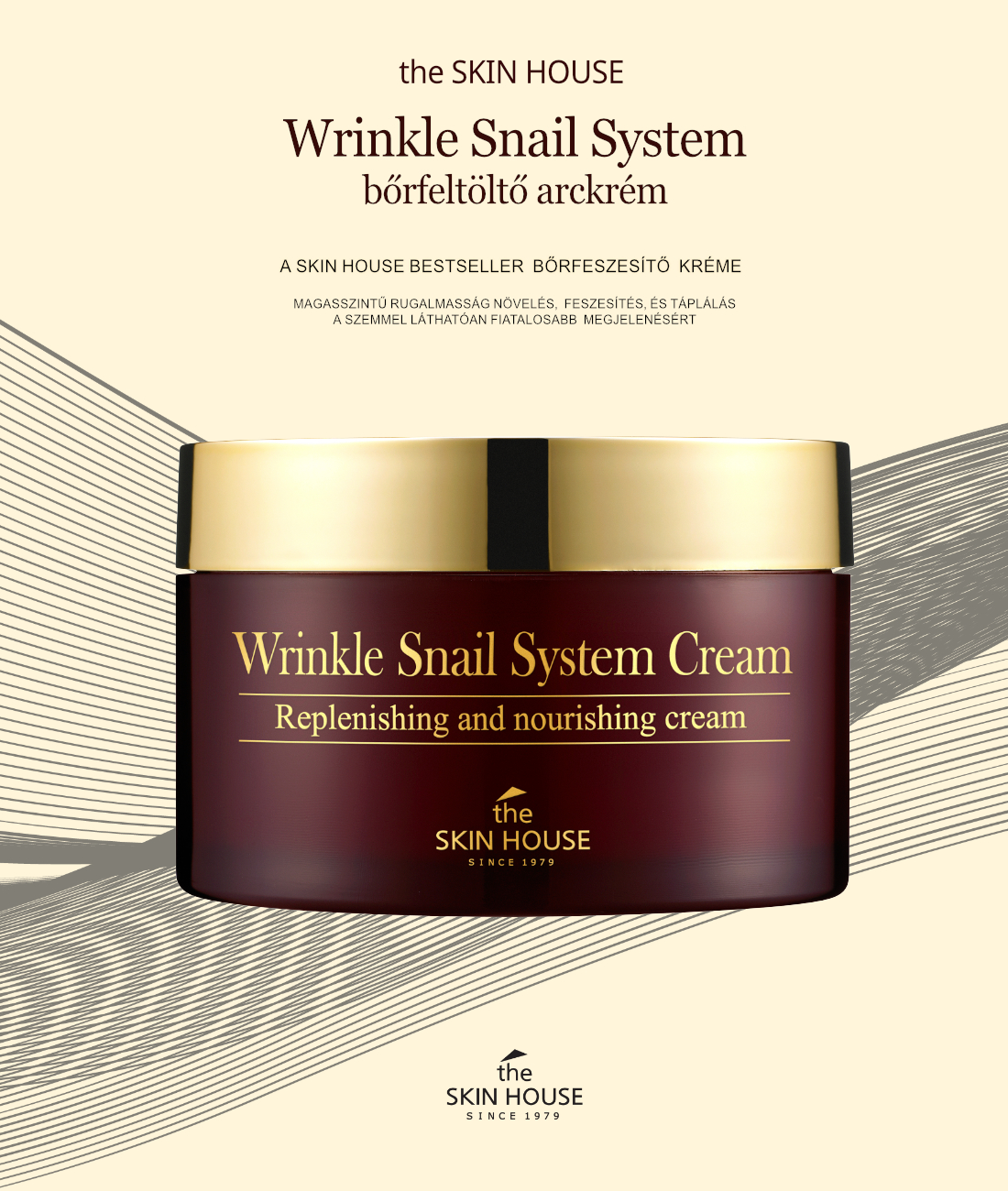 the-skin-house-Wrinkle-snail-system-krem-leiras