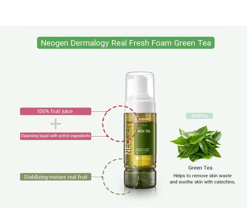 Teszt Neogen Real Fresh zöldteás arclemosó hab