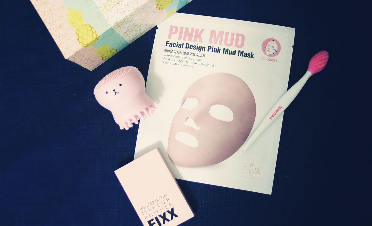 So Natural Póruskezelő és Méregtelenítő pink agyagos maszk teszt