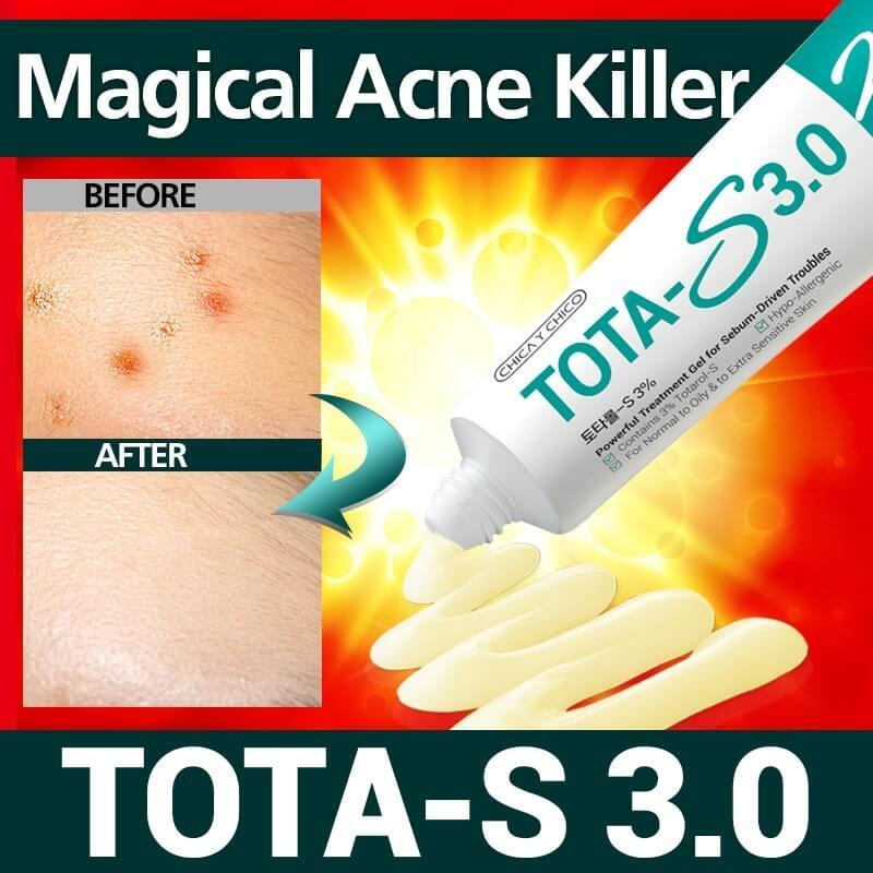 Tota-S aknés bőrre